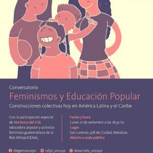 Conversatorio sobre Feminismos y Educación Popular (17-09-2018)