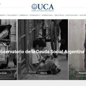 Observatorio de la Deuda Social Argentina Desigualdades sociales en tiempos de pandemia